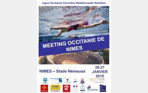 MEETING DE NIMES 26 ET 27/01/2019